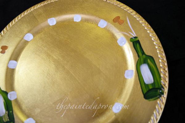 New Years plate 4 thepaintedapron.com