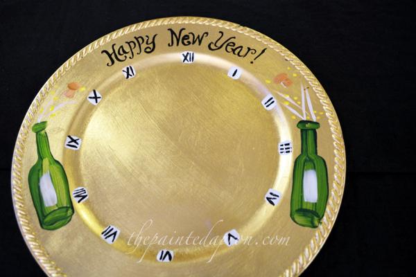 New Years plate 7 thepaintedapron.com