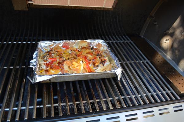 BBQ nachos thepaintedapron.com