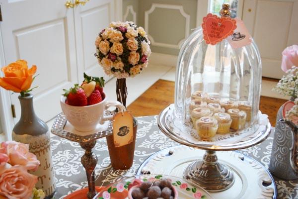 cupcakes and strawberries thepaintedapron.com