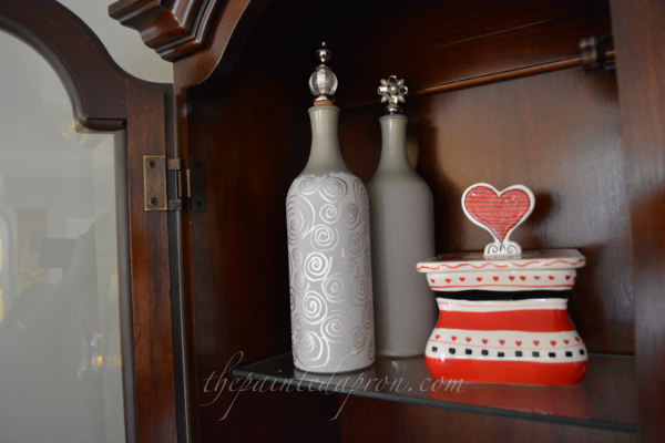 decorative bottles thepaintedapron.com