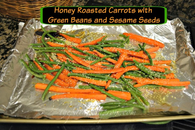 honey roasted maple vegetables thepaintedapron.com