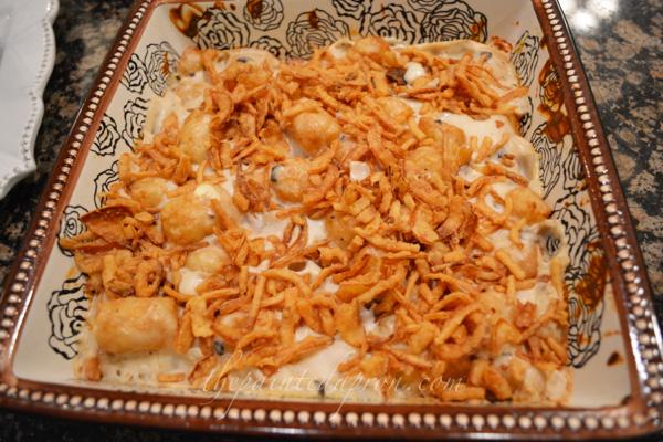 Tater Tot Bake thepaintedapron.com