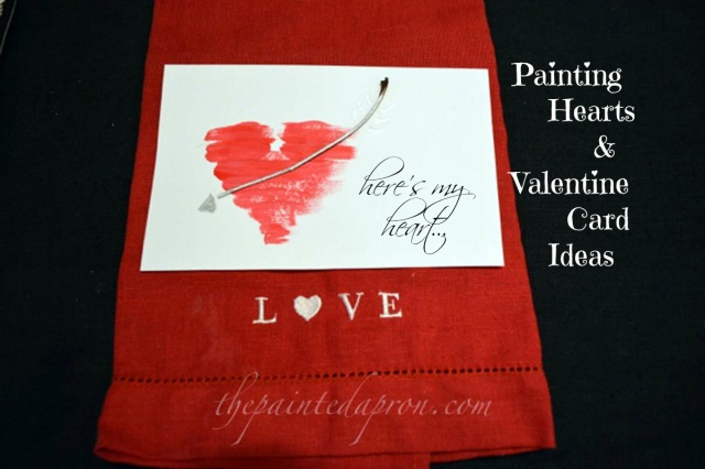 Valentine card thepaintedapron.com