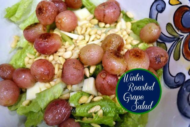winter grape salad thepaintedaproncom