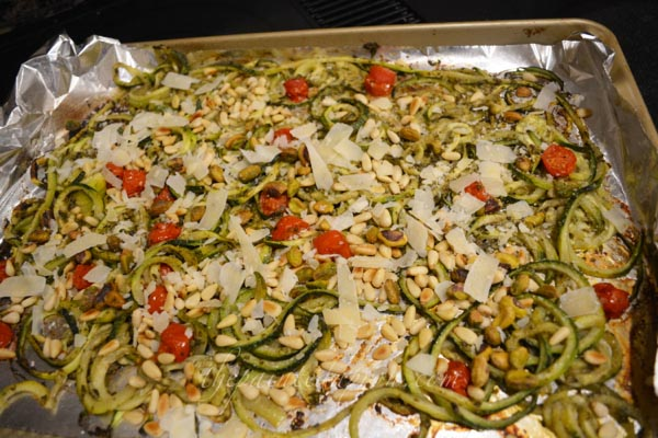 zucchini with pine nuts thepaintedapron.com