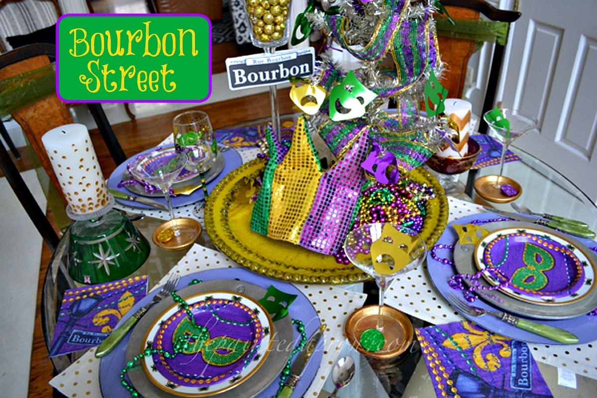 Home Decor Stores New Orleans Tablescapes Bourbon Street The Painted Apron