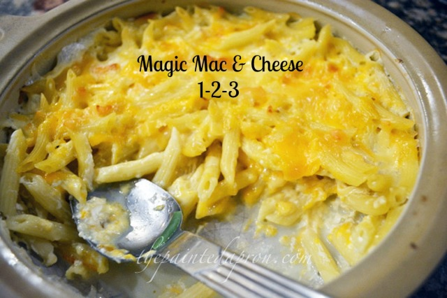magic mac & cheese 1 thepaintedapron.com