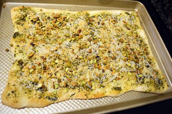 pesto pistachio flabread.com