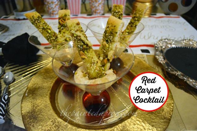 red carpet cocktail thepaintedapron.com