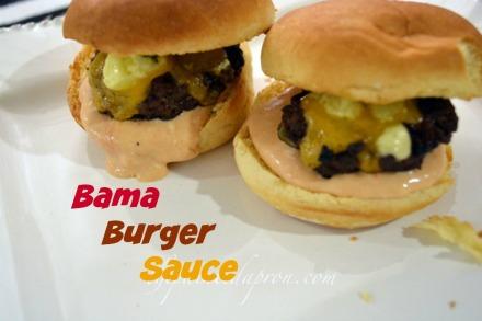 Bama Burger Sauce 2 thepaintedapron.com