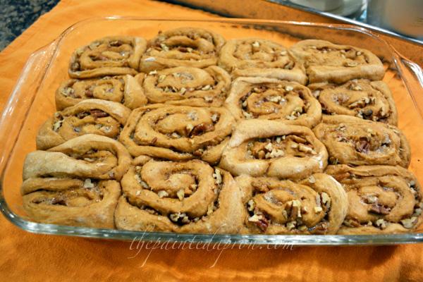 carrot cake rolls 4 thepaintedapron.com
