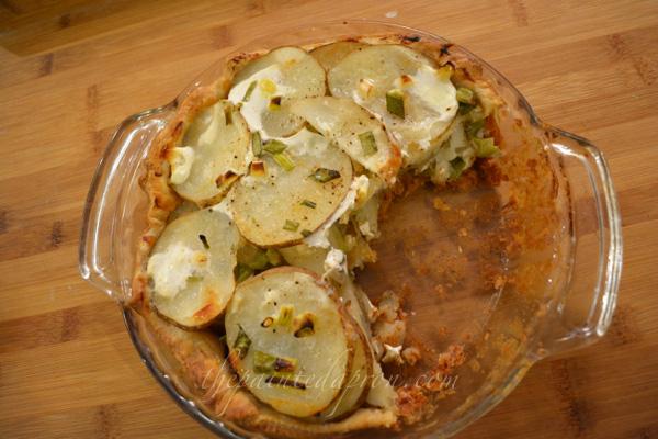 creamy potato pie thepaintedapron.com