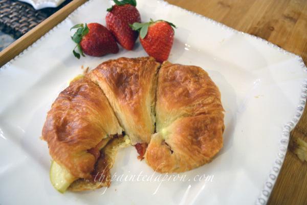 do ahead croissant sandwich thepaintedapron.com