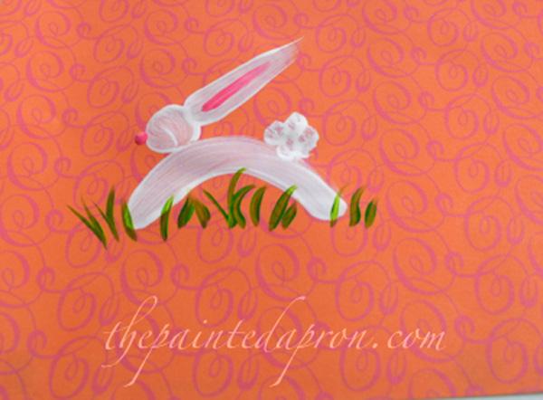 hopping bunny thepaintedapron.com