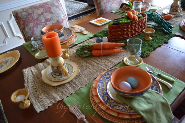 Hopping towards Easter thepaintedapron.com