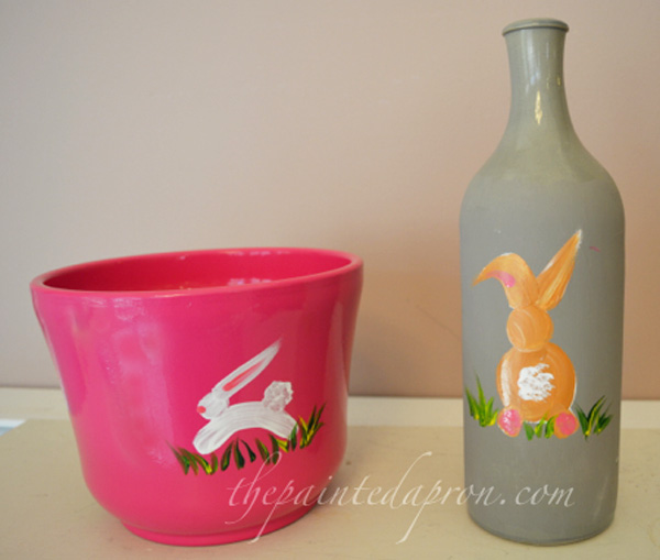 painted bunnies thepaintedapron.com