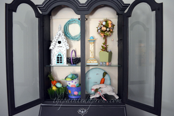 spring shelves thepaintedapron.com