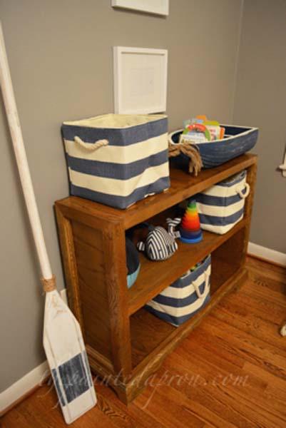 nursery shelves thepaintedapron.com
