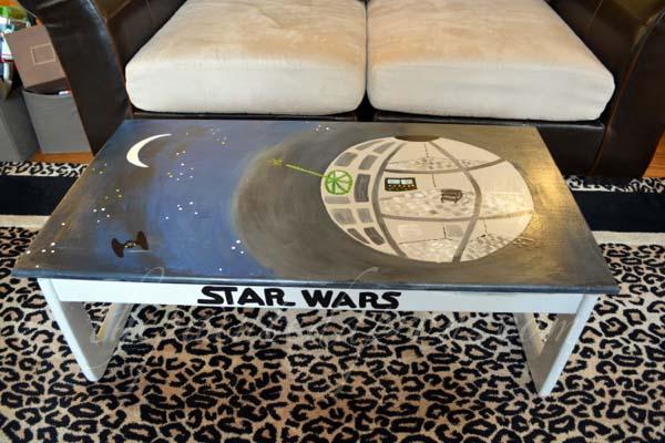 Star Wars play table 7 thepaintedapron.com
