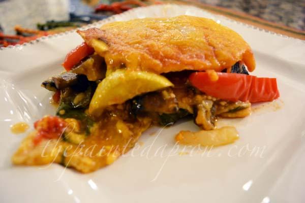 veggie enchiladas thepaintedapron.com
