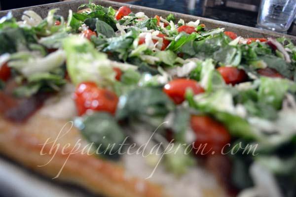 BLT pizza 2 thepaintedapron.com