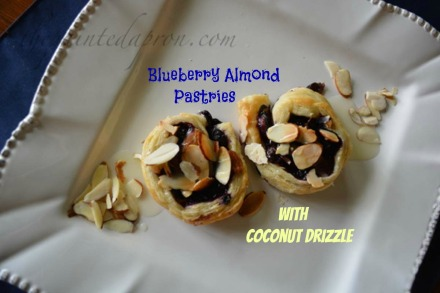 blueberry almond pastries with coconut syrup 1 thepaintedapron.com