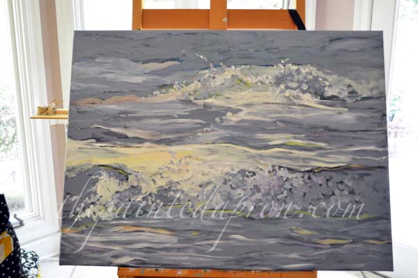 breaking waves 2 thepaintedapron.com