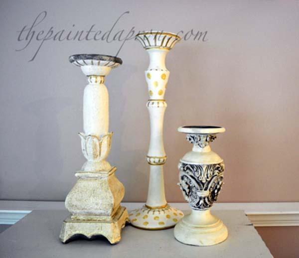 custom candlesticks thepaintedapron.com