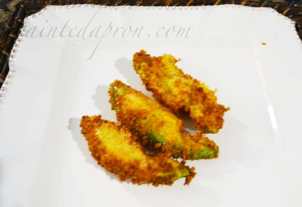 fried avocado thepaintedapron.com