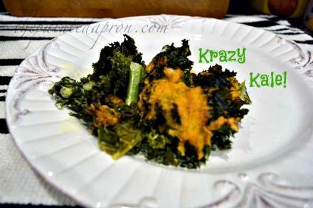 Krazy Kale 1 thepaintedapron.com