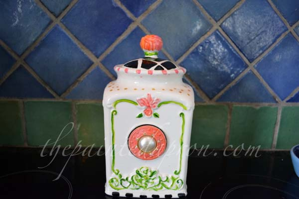 painted canister thepaintedapron.com
