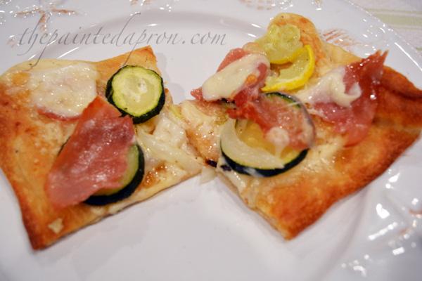 summer squash pizza 1 thepaintedapron.com
