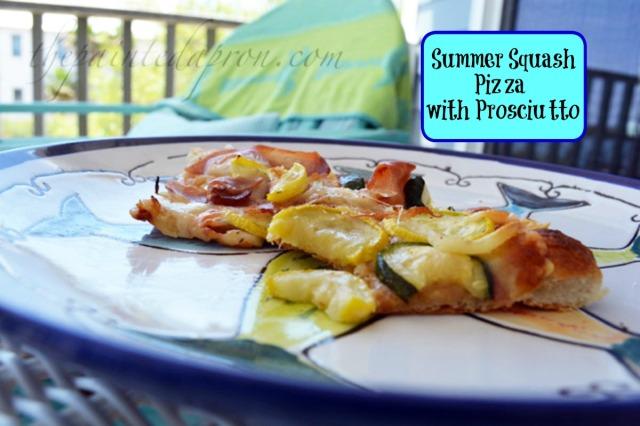 summer squash pizza thepaintedapron.com