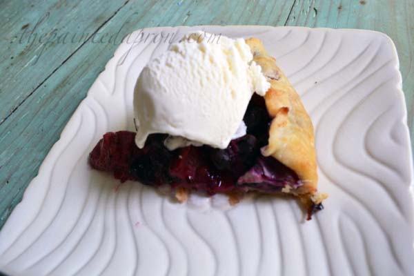 blueberry strawberry crostata thepaintedapron.com