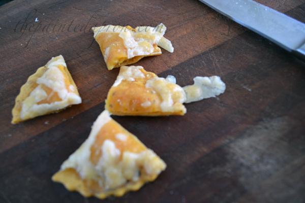 butternut squash ravioli croutons thepaintedapron.com
