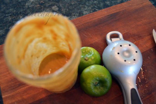 peanut lime dressing 1 thepaintedapron.com