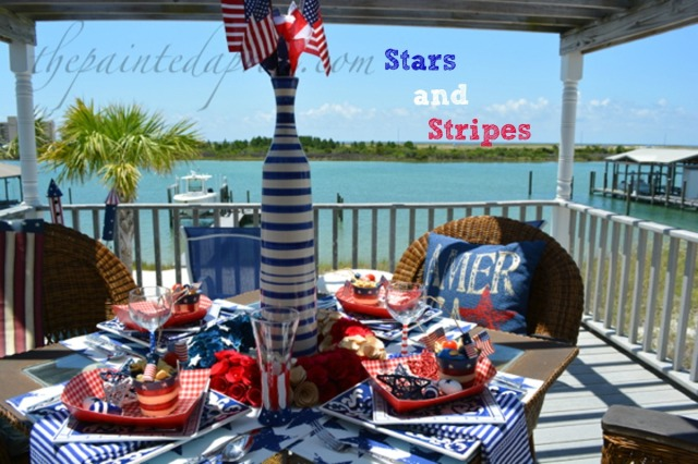 stars and stripes thepaintedapron.com