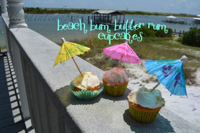 beach bum butter run cupcakes 2 thepaintedapron.com