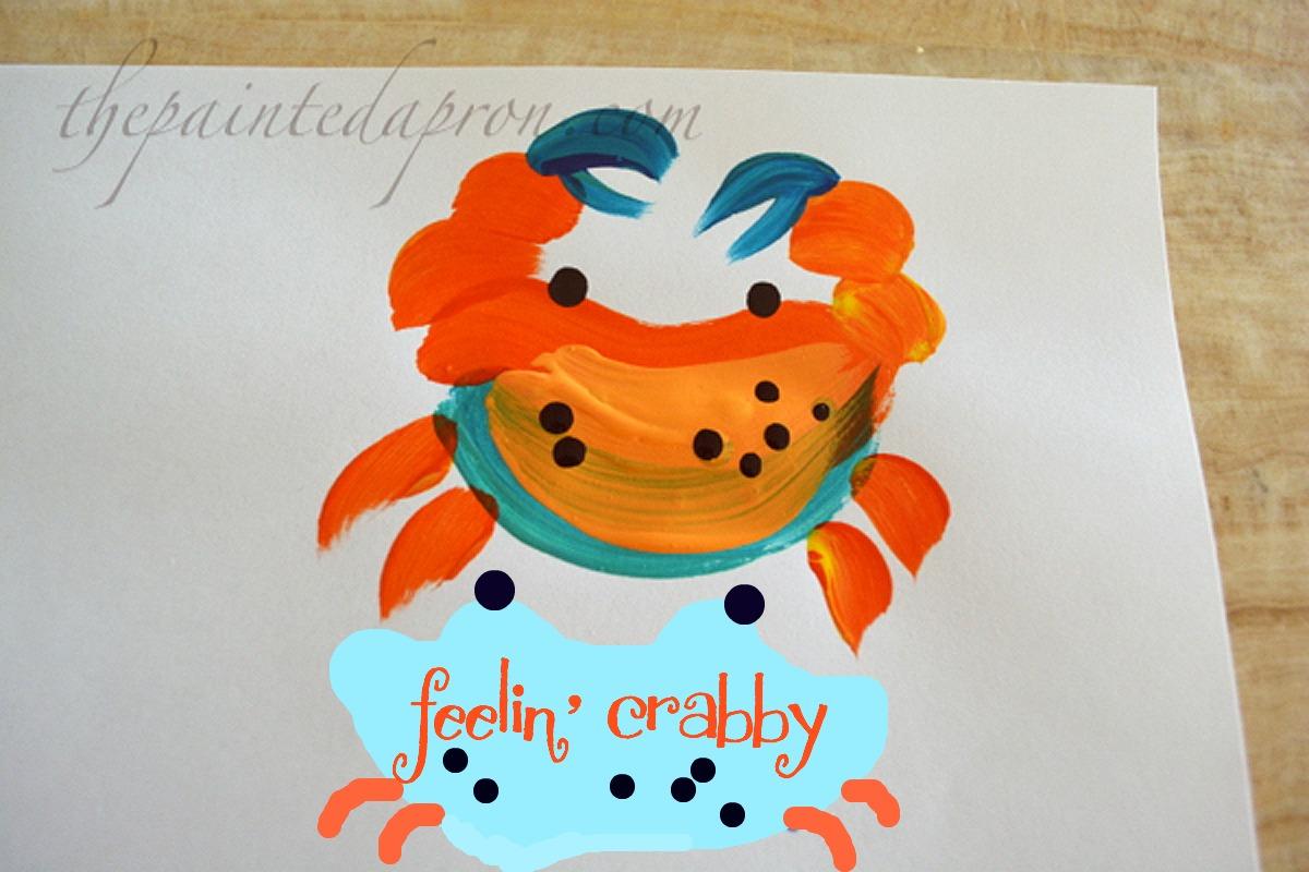crab #6 thepaintedapron.com