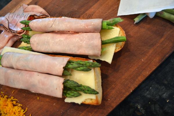 ham and asparagus rolls thepaintedapron.com