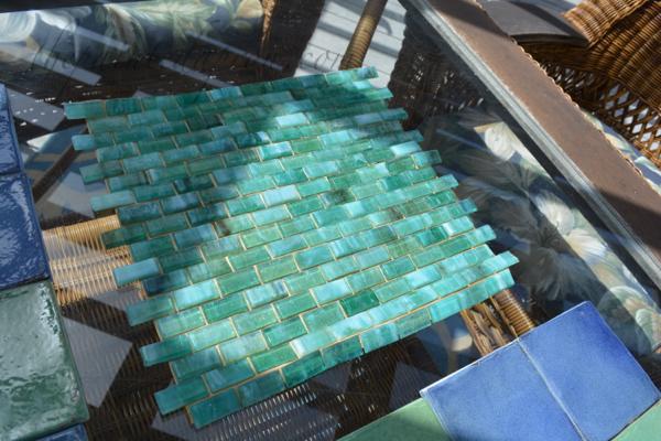 tile centerpiece thepaintedapron.com