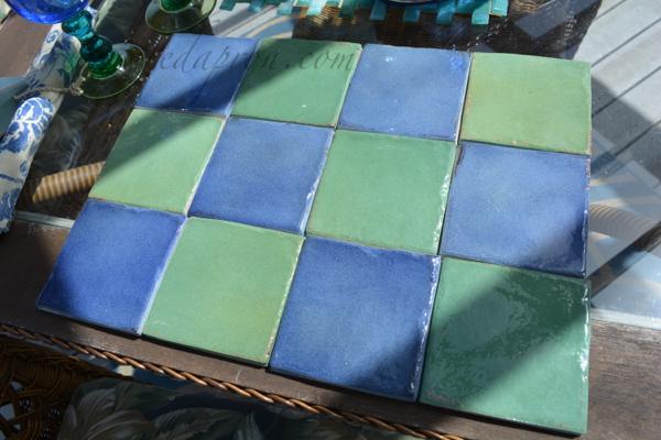 """tile """"place mat"""" 2 thepaintedapron.com"""