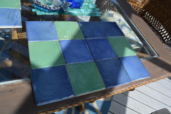 """tile """"place mat"""" thepaintedapron.com"""