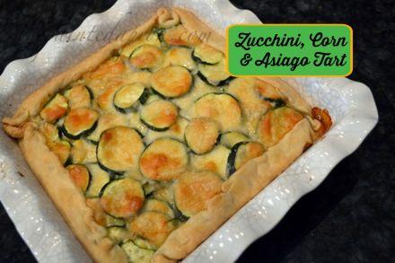 zucchini asiago cheese bake thepaintedapron.com