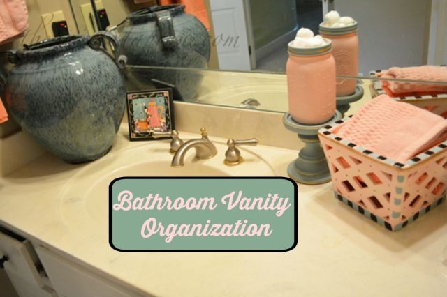 Bathroom Vanity Organization the organized life, bathroom vanity organization | the painted apron