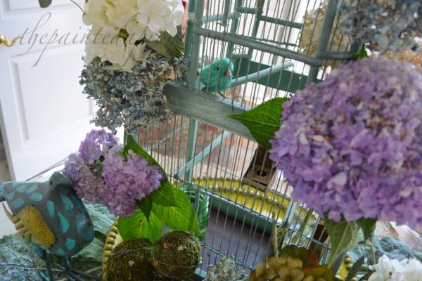 birds and blooms thepaintedapron.com