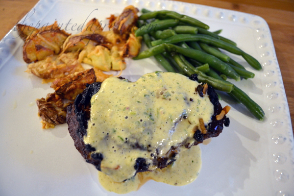 filet with bearnaise thepaintedapron.com