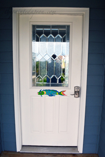 fish door thepaintedapron.com
