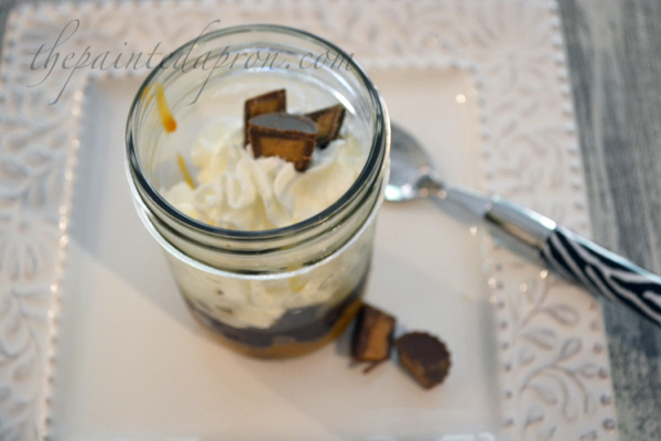 Take-out Tuesday, Peanut Butter Pie in a Jar | The Painted ...